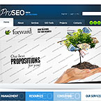 Advertising Seo Web Template – #4000